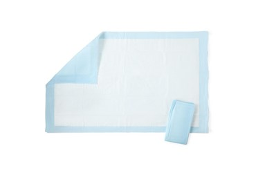 Absorbent Disposable Underpads, Pkg. of 25