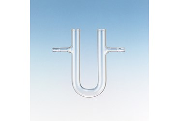 U-Shaped Drying Tube with Sidearms 100 mm