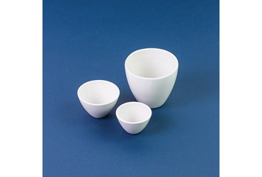 Coors Wide Form Porcelain Crucible 8 mL