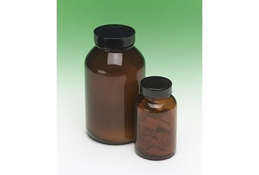 Glass Wide Mouth Bottle with PVC Coating 120 mL/100 g