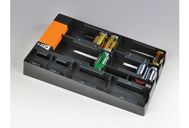 Battery Storage Rack and Tester
