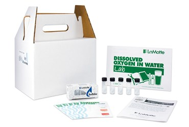 Oxygen in Water Test Kit for Environmental Science