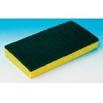 Cellulose Sponge with Scrubber Pad