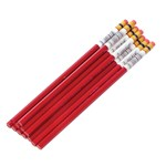 Red Colored Pencil Set