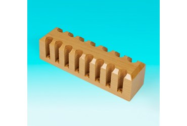 Wooden Test Tube Rack fo 13-16 mm Tubes