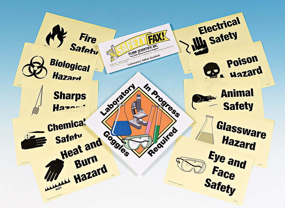 Ap6841gv855c723d84a740988fb4396df37297a5 science laboratory safety symbols signs and posters buycottarizona Image collections