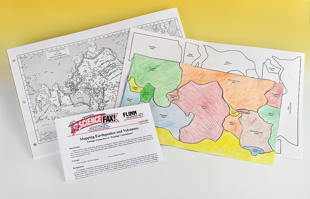 Mapping earthquakes and volcanoesstudent activity kit gumiabroncs Image collections