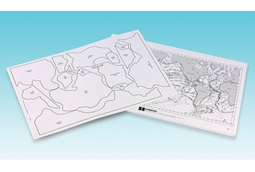 Mapping Earthquakes and Volcanoes Activity Kit for Earth Science and Geography