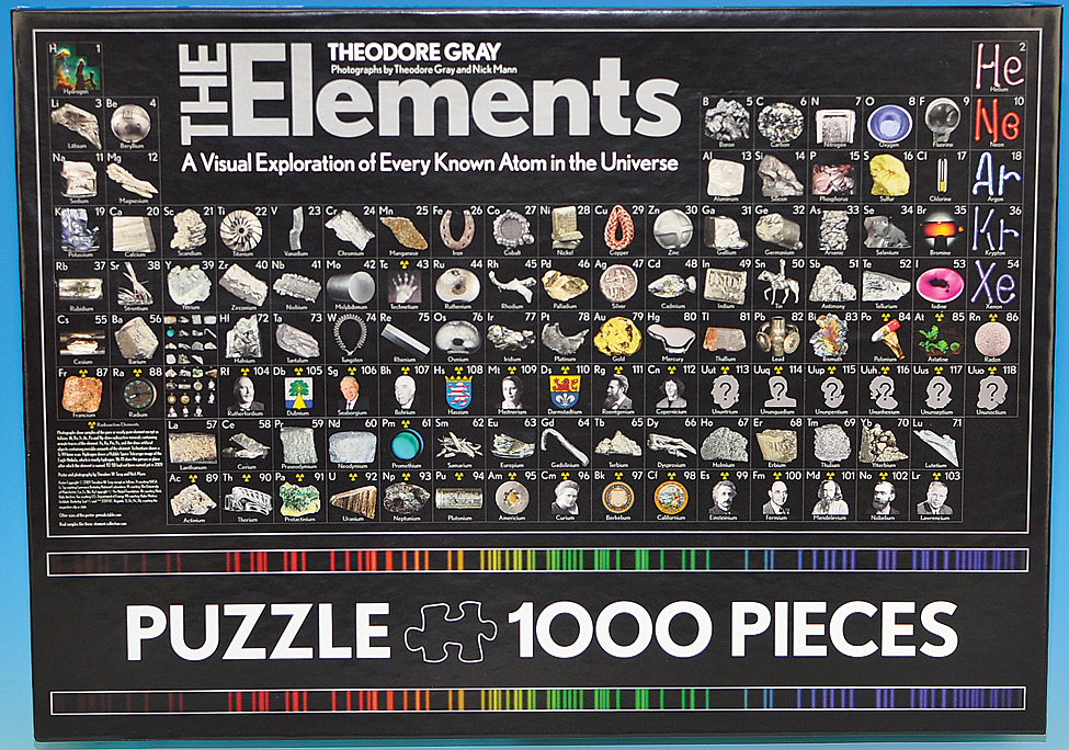 Periodic table jigsaw puzzle urtaz Gallery