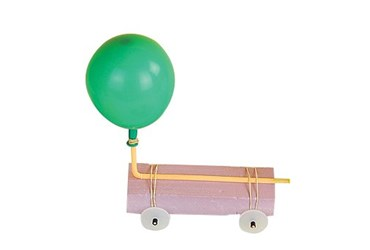Balloon Cars Challenge Physical Science and Physics Guided-Inquiry Kit