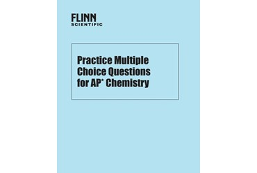 Multiple Choice AP* Chemistry Test Booklets in a Classroom Set