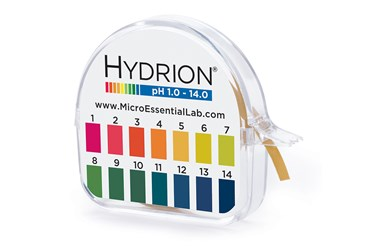 Hydrion Spectral 1 to 14 pH Test Paper