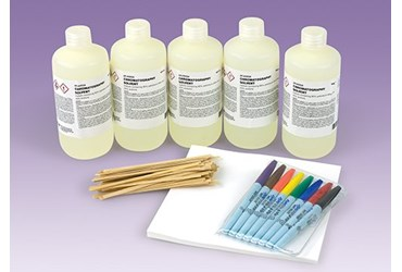 Introduction to Paper Chromatography Chemistry Super Value Laboratory Kit