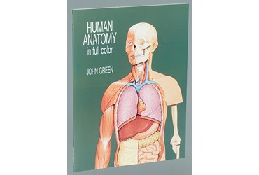 Human Anatomy in Full Color Visual Reference Book for Biology and Life Science