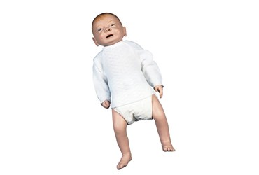 3B Scientific® Male Baby Care Model for Nursing and CTE