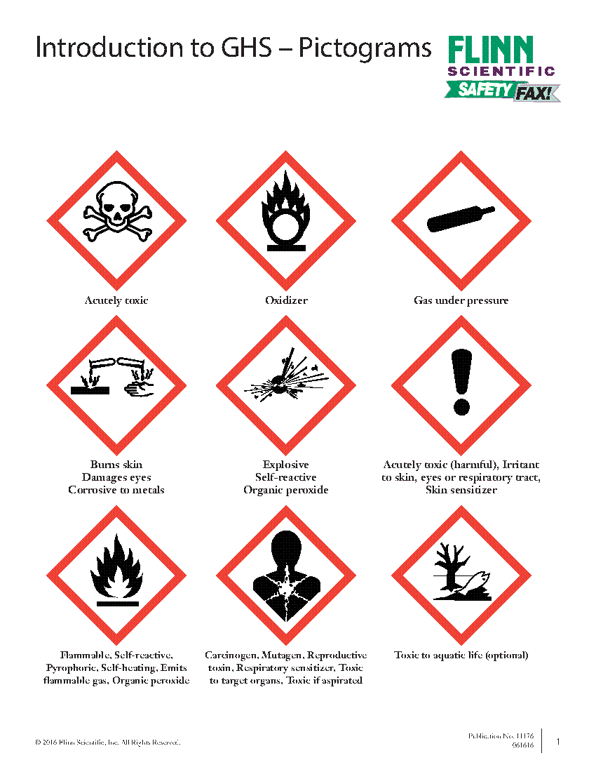 Introduction to ghs pictograms buycottarizona